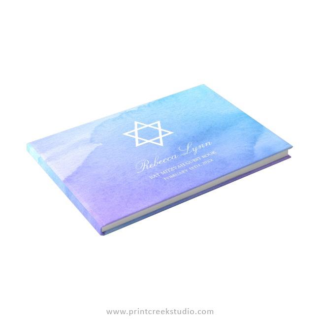 Bat Mitzvah guest book