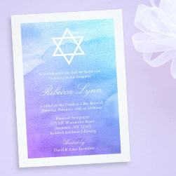 Bat Mitzvah Invitations